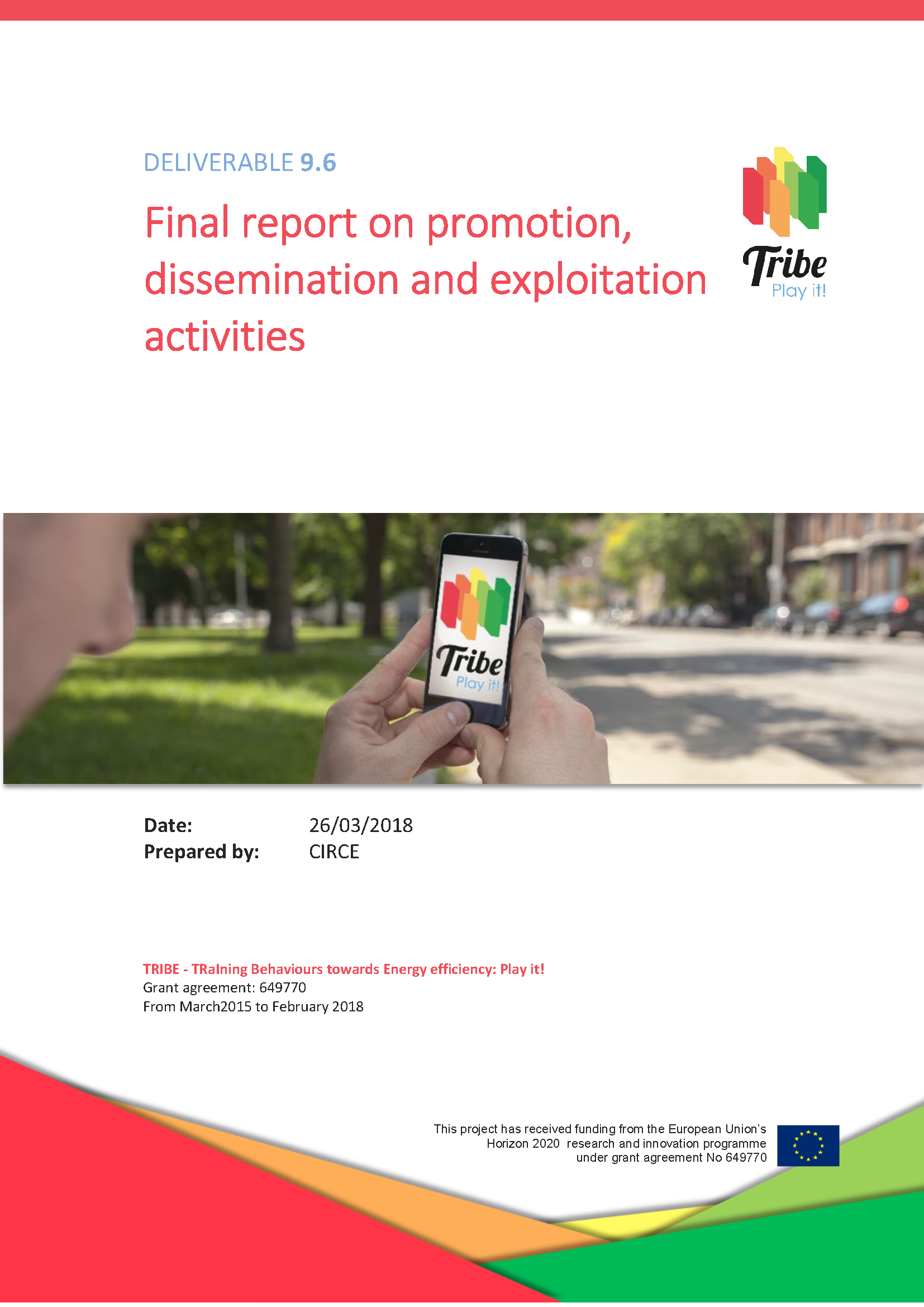 9 6 final report on promotion dissemination and exploitation
